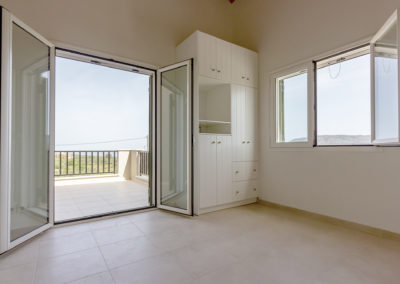 Patricks Villa Photographs- Bedroom with Balcony View (2)