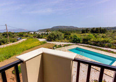 Patricks Villa Photographs- View of Souda Bay